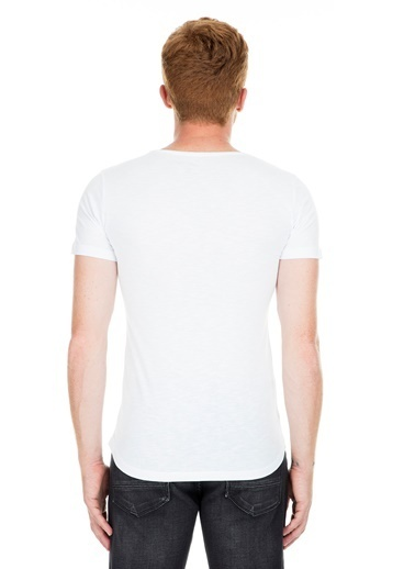 Noche Tişört Beyaz